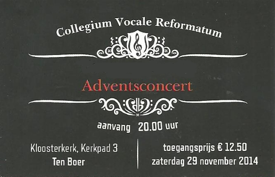 Adventsconcert 2014